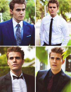 Paul Wesley as Stefan Salvatore❤ The Vampires Diaries, Serie Vampire Diaries, Vampire Diaries The Originals, Stefan Salvatore, Paul Wesley, Bonnie Bennett, Gorgeous Men, Beautiful People, Hello Beautiful