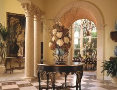 View our luxury interior design portfolio for Jupiter, Florida and see why Marc-Michaels has won over 400 interior decorating awards worldwide. Luxury Interior Design, Interior Exterior, Interior Decorating, Tuscan Design, Tuscan Style, Mediterranean Style, Home Design Decor, House Design, Architecture Design