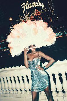 las vegas bergdorf goodman10 Viva Las Vegas! Alima Fofana by Arnaud Pyvka for Bergdorf Goodman Resort 14