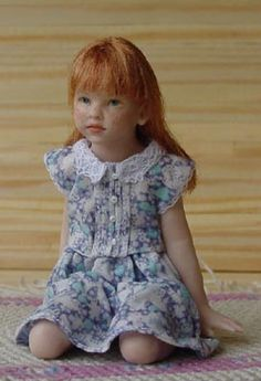 1/12 scale  doll by Susan Scogin