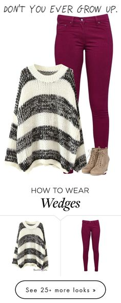 """I don't want to grow up"" by justdance203 on Polyvore featuring Great Plains"