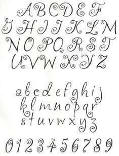 embroidery letters patterns - Google Search