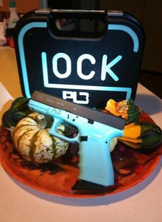Tiffany Blue Glock 23 S&W. I custom painted (Duracoat) this for my Mom and used a soldiering Iron to engrave her initials. Oh, and her initials on the case. PLB - Love you Momma. Birthday Presents For Mom, Mom Birthday, Glock Girl, Glock 9mm, Best Concealed Carry, Love Gun, Cool Guns, Guns And Ammo, Tiffany Blue