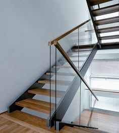 Image detail for -... glass usage modern stair railing – Home Office Interior Design Ideas