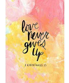 Bible Verse | Love | Inspiration