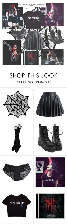 """""""Ashley Costello (from NYD)"""" by beadances ❤ liked on Polyvore featuring Heritage Lace, Chicwish and Pieces"""