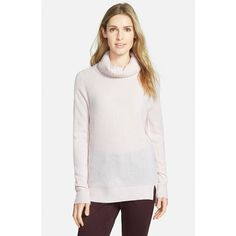 Halogen Cashmere Turtleneck Sweater ($138) ❤ liked on Polyvore