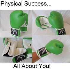 Womens LEATHER Boxing Gloves In Cool Green, Size 12oz Physical Success Partners http://www.amazon.com/dp/B000R08Q9K/ref=cm_sw_r_pi_dp_n03Iub1679MBK  I own these and I like them. I really don't have much to compare since they're my 1st pair of gloves. They work. I like the color. they're crafted well.