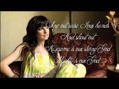 Strong God - Meredith Andrews - Lyric Video