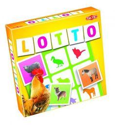 Tactic Lotto, maatilan eläimet- peli | Karkkainen.com verkkokauppa