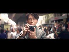 【日本CM】藤岡靛以流利英語細說拿著Canon新相機拍攝的感覺 - YouTube
