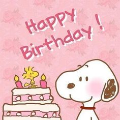 Birth Day QUOTATION – Image : Quotes about Birthday – Description Pink Snoopy Birthday Image snoopy happy birthday birthday quotes snoopy birthday images Sharing is Caring – Hey can you Share this Quote ! Best Birthday Quotes, Birthday Wishes Funny, Happy Birthday Sister, Happy Birthday Messages, Happy Birthday Greetings, Birthday Sayings, Images Snoopy, Happy Birthday Snoopy Images, Birthday Images Funny