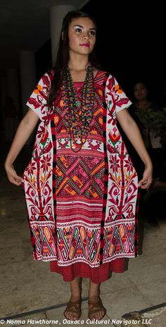oaxaca embroidered dress - Google Search