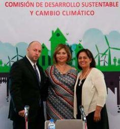 En sesión de trabajo de la Comisión de Desarrollo Sustentable y Cambio Climático de la LVIII Legislatura del estado, presidida...