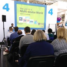 Amit Garg enthralling his audience with his session on creating engaging eLearning at LT16UK