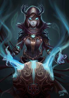 Reaper Orianna Concept Skin