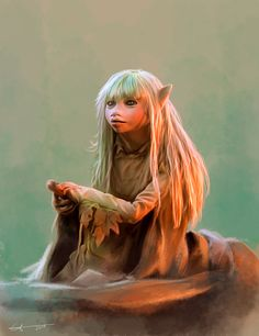 Kira (from the film The Dark Crystal by *euclase on deviantART