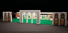 #League_of_Arab_States #Exposition_booth #Signpro #Egypt #Architecture #Interior_Design #Finishing #Landscape #Furniture_Design #3D_Modeling #Decor_Design