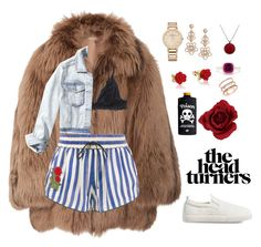 """""""Untitled #384"""" by saracalado ❤ liked on Polyvore featuring Michael Kors, Off-White, Monki, Hollister Co., Disney, Kate Spade, Vacheron Constantin, Effy Jewelry, EF Collection and Gap"""
