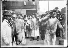 Butchers During Stockyard Strike, 1904, Chicago Daily News negative DN-0000941 Courtesy of Chicago History Museum