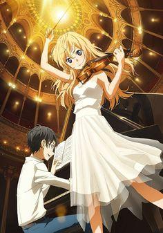 Les plus beaux couples des mangas - Miyazono Kaori x Arima Kosei
