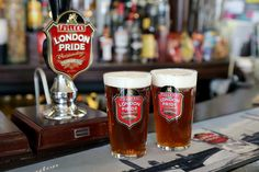 My first pint of a two week trip to London. Seemed fitting. After all was said and done, I had at least one pint from 43 different English b...