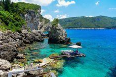 La Grotta Beach Bar, Paleokastritsa – Rocks