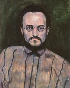 Berény, Róbert (1887-1953) - Portrait of Painter Bertalan Pór, 1907
