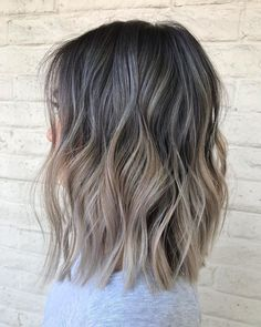 Ashy Hair, Brown Blonde Hair, Brunette Hair, Cool Tone Brown Hair, Hair Color And Cut, Hair Colour, Ashy Brown Hair Balayage, Balayage Lob, Brunette Highlights