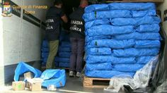 Roma: Maxi sequestro di droga. Sequestrati 250 chili di hashish