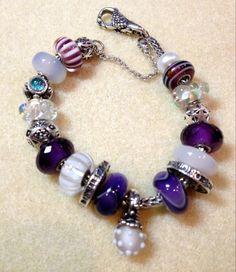 Elegant Purple & White