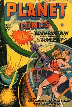 Planet Comics (1940) No. 43