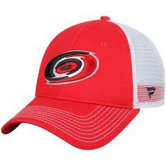 3771af55763e1 Carolina Hurricanes Core Trucker Adjustable Snapback Hat - Red