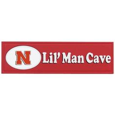 Nebraska Cornhuskers Lil' Man Cave Sign, Multicolor