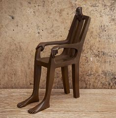 """The Chair"" bronze sculpture by Isabel Miramontes - photo from Casart;  9"""