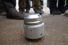 On Pinterest: The ATK-EB Fuze, An Indicator of Russian-made Air-Dropped Cluster Munitions. #Syria  More at link, embedded in photograph.