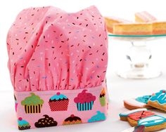 Cute hat and apron tutorial