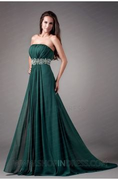 Gorgeous Green Evening Gown