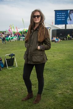 We loved Imogen's classic Barbour Bedale Jacket when we met her at the Great North Run. An ideal outer layer this Autumn as the winter chill closes in.