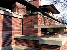 Frank Lloyd Wright. Robie House. Chicago. 1910. Prairie Style