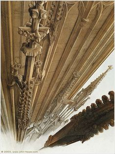 John Howe - The Way Up - Cathedral - 1987