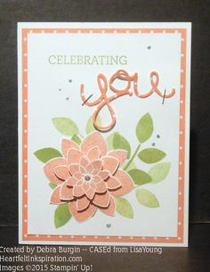 Celebrating a spring birthday Stamping Up, Rubber Stamping, Crazy About You, Making Greeting Cards, Flower Patch, Die Cut Cards, Cool Cards, Stampin Up Cards, Cardmaking