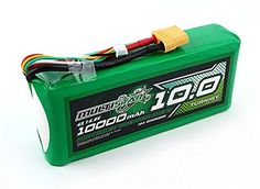 HobbyKing Multistar High Capacity 4S 10000mAh Multi-Rotor Lipo Pack / Minimum Capacity: 10000mAh / Configuration: 4S1P / 14.8V / 4Cell / Constant Discharge: 10C / Peak Discharge (10sec): 20C ** Read more reviews of the product by visiting the link on the image.