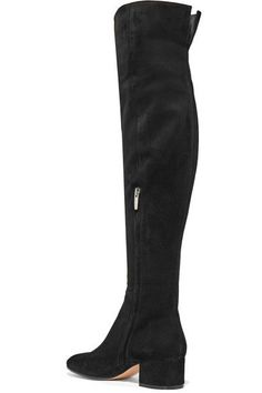 Gianvito Rossi - Suede Over-the-knee Boots - Black - IT36.5
