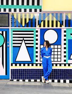 La vitrine de la boutique Third Drawer Down à Mebourne -Memphis movement Plus