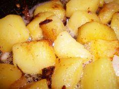 Garlic Crispy-Soft Butter Potatoes - mmm!