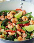 Thai Style King Prawn Oriental Stir Fry