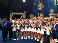 Your 19-time National Champion Cheerleading squad...the most decorated cheering program in America