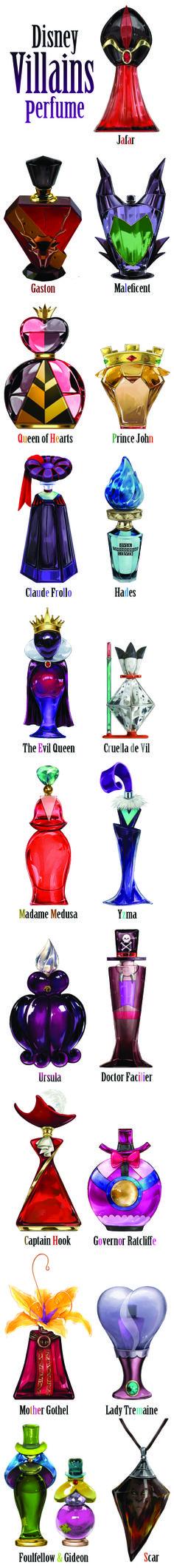"""Disney Villains Perfume"" by japanese artist Ruby Spark."