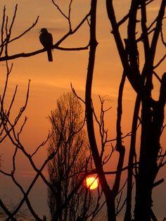 Sunrise in Burgas, Bulgaria